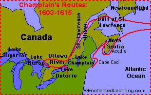 Boat Names Starting With X by Canadian Explorers Enchantedlearning