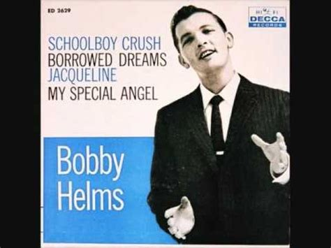 bobby helm original bobby helms borrowed dreams 1958 youtube