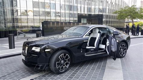 rolls royce wraith black badge review youtube