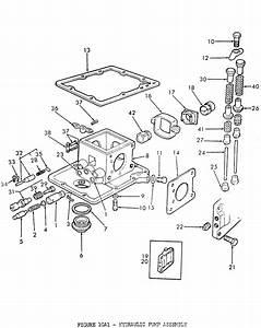Ford 2n 8n 9n Hydraulic Pump Assy