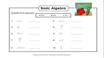 Algebra Beginner Worksheets Basic Algebra Worksheet Abitlikethis
