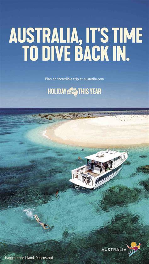tourism blake campaign australia saatchi aussies hamish zoe urge foster sydney holiday via latest