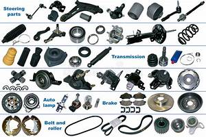 The Most Popular Spare Parts For Car Stock Image
