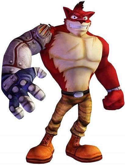 Crunch Bandicoot Crash Villains Wiki Characters Nitro