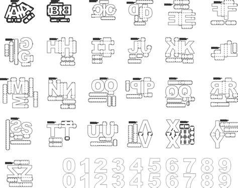molde letras 3d para silhouette e plotters de recorte