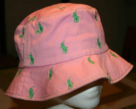 polo bucket hats tag hats