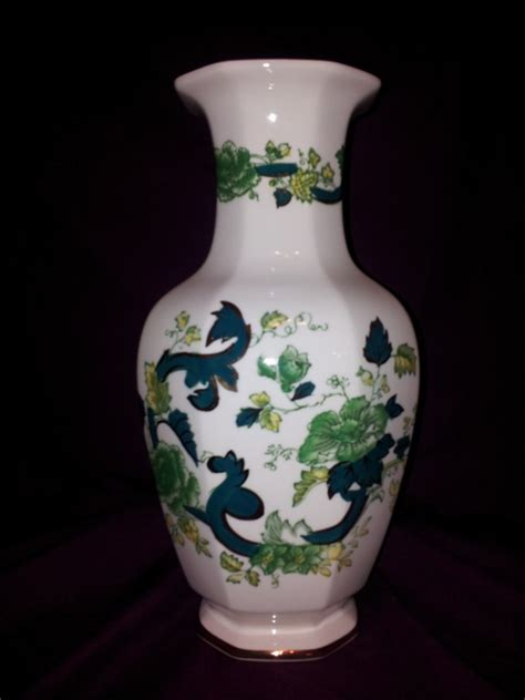 chartreuse vase nivag collectables masons chartreuse large vase