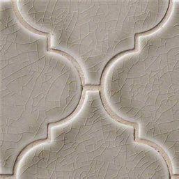 Dove Gray Arabesque 8mm  Mosaics   Oakland kitchen