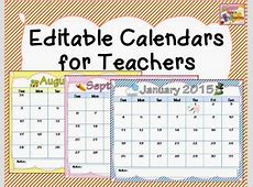 6 Best Images of Printable Calendars For Teachers Free
