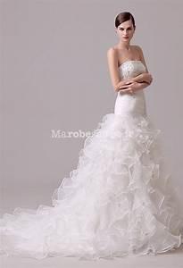 Robe De Mariee Sirene : robe de mari e sir ne bas froufrou tra ne ~ Melissatoandfro.com Idées de Décoration