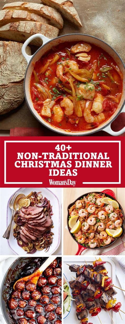 Other types of poultry, roast beef, or ham are also used. Non.traditional Christmas Dinner Iseas / 19 Best Non ...