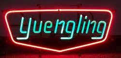 Yuengling Neon Beer Bar Sign Light