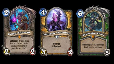 deck hearthstone frozen throne hearthstone knights of the frozen throne expansion