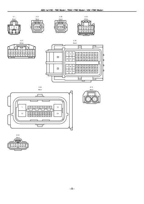 toyota abs wiring diagram wiring diagrams image free