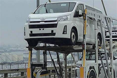 Toyota hiace commuter 3.0 mt. หลุดเต็มๆ Toyota Commuter รถตู้เจนใหม่ถูกใจสาวก จ่อเผยปี 2020