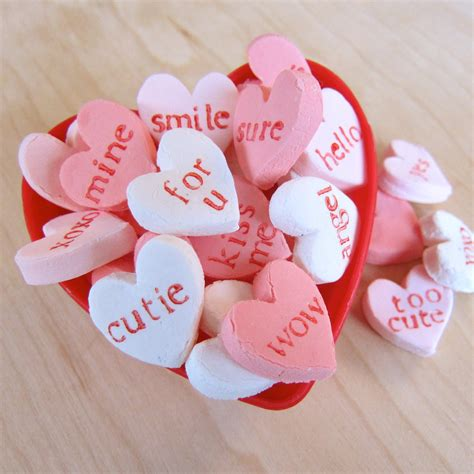 Homemade Candy Hearts 4 Steps With Pictures