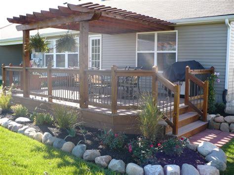 landscaping decks decks by design picture portfolio
