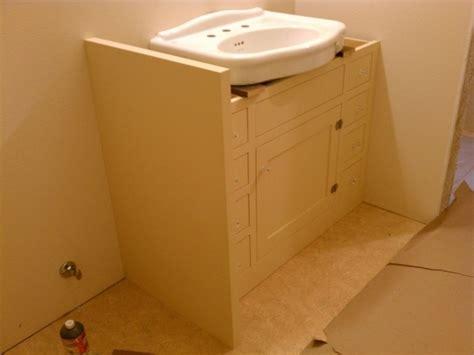 Image Of Attractive Under Pedestal Sink Storage Cabinet
