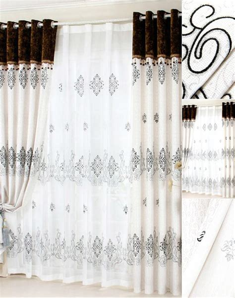 Gray Curtains With Valance by Grey Patterned Curtains With Reactive Print No Valance