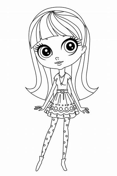 Coloring Pages Pet Littlest Sofia Lalaloopsy Litl