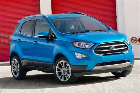 Six First Impressions On The 2018 Ford Ecosport