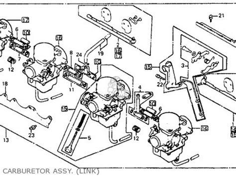 honda cb750sc nighthawk 750 1982 c usa parts lists and schematics