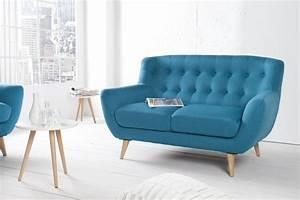 2 Sitzer Sofa Retro : sofa stockholm petrol 2 sitzer ~ Bigdaddyawards.com Haus und Dekorationen