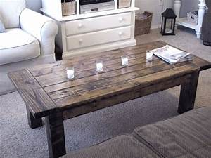 Woodwork building coffee table pdf plans for How to build a rustic coffee table