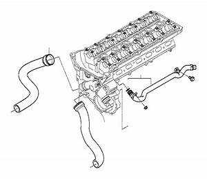 Bmw 325i Heater Inlet Pipe  Cooling  Hoses  Engine