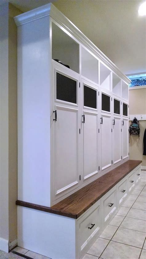 mud room lockers reeds landing rva remodeling llc