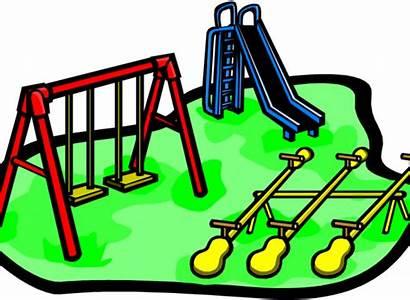 Playground Clip Clipart Park Transparent Pinclipart