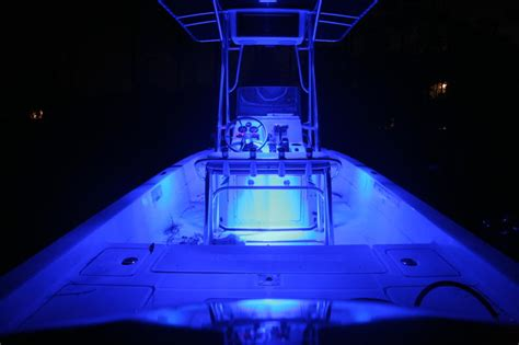 Led Lights On Fishing Boat by Led Quot Accent Lights Quot For Bay Boat The Hull