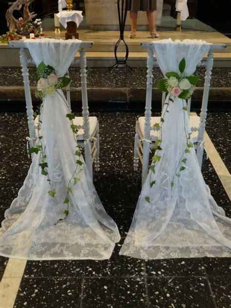 chaise d église décoration évenement mariage