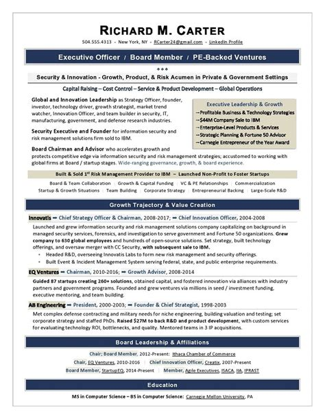 It Executive Resume Sles by Sle Cover Letter For Vp Corporate Strategy Executive