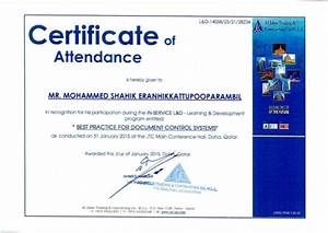 7 training certificate best practice for document With document control training online
