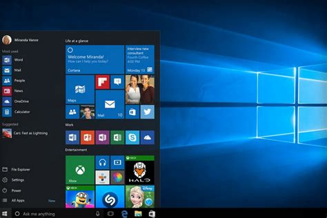 bureau windows ordileers tag windows 10