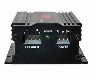 New Pyle Plmpa35 2 Channel 300 Watt Mini Amplifier W  3 5mm