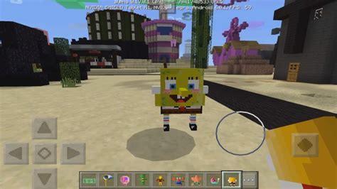 spongebob mod minecraft pe mods