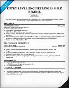 Computer Skills In Resume Sample Entry Level Engineering Resume Must Be Written Excellently