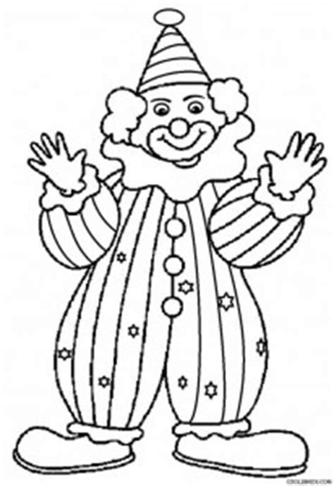 printable clown coloring pages  kids coolbkids