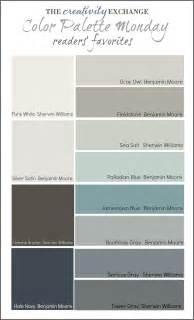 color palette for home interiors readers 39 favorite paint colors color palette monday