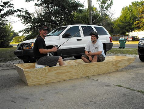 Wooden Jon Boat by Cesdy Getting Wooden Jon Boat Plans