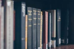 Books On Rack  U00b7 Free Stock Photo