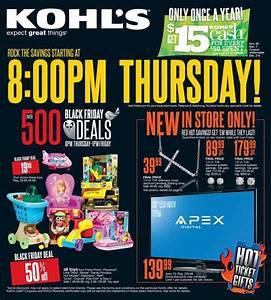Kohl's Black Friday 2013 Ad - Find the Best Kohl's Black