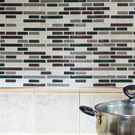 peel and stick subway tile wallpaper 3d adhesive faux tile vinyl peel and stick tiles subway