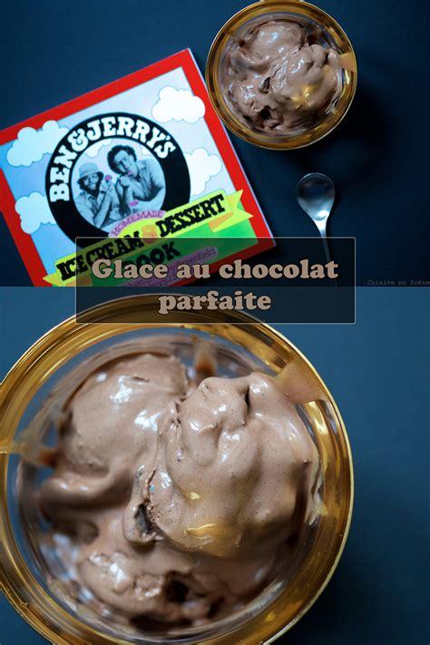 glacer en cuisine glace au chocolat parfaite cuisine en scène le