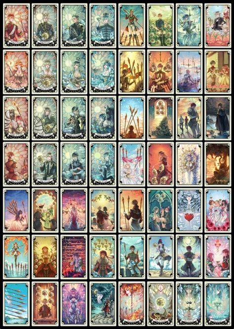 tarot minor arcana wip progress tarot cards art