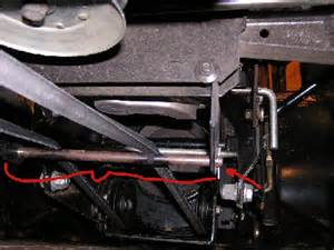 how do yo tighten the motion drive belt on craftsman lt2000 apps directories