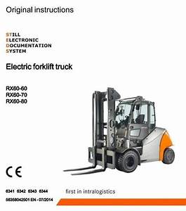 Still Electric Forklift Truck Rx60