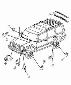 2008 Jeep Commander Sensor  Washer Fluid Level  System